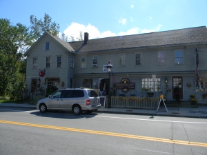 The Black Horse Tavern today.