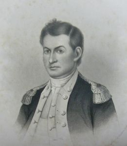 Portrait of Colonel Christopher Greene from Oliver Payson Fuller's