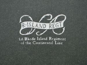 Insignia of the 1st Rhode Island Regiment of the Continental Line
